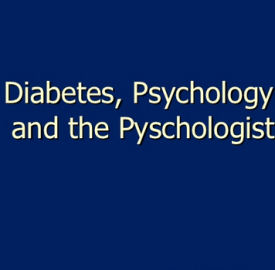 Type 2 Diabetes and health psychology